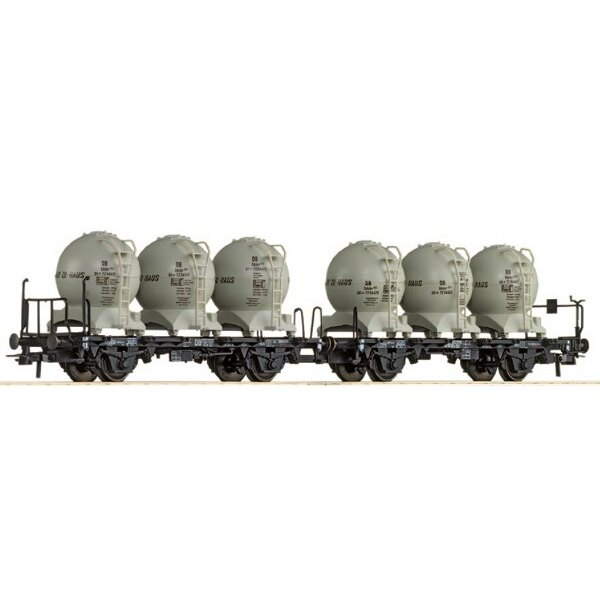 Set 2 DB silo wagons