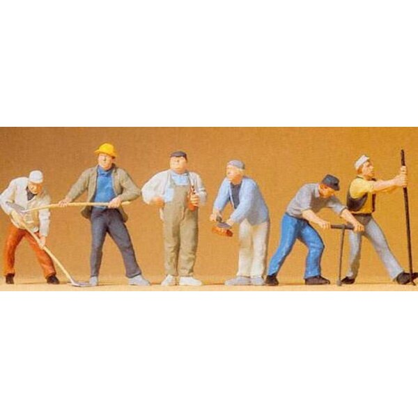 Construction workers 1/43 1/45