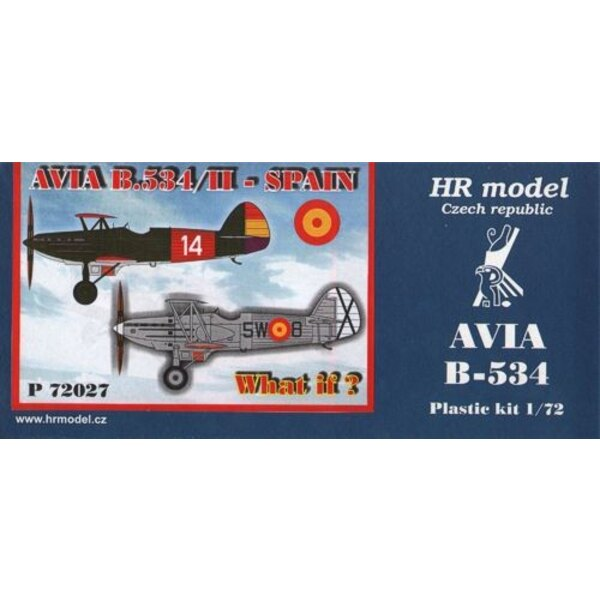 Avia B-534/II (Spain, What If)