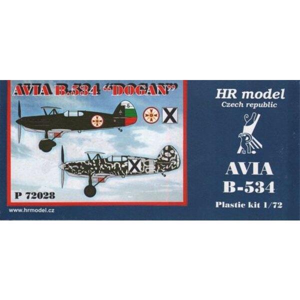 Avia B-534/IV Dogan (Bulgaria)