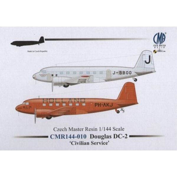 Douglas DC-2 £Civilian Service£In the mid-1930s the Douglas DC-2 opened a new chapter in modern-era air transpor