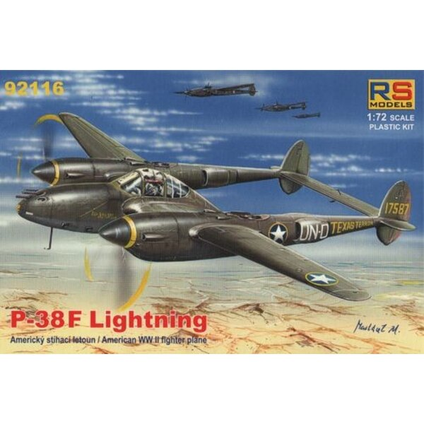 Lockheed P-38F Lightning-New 4/2012 !!! 4 decal variants for USA