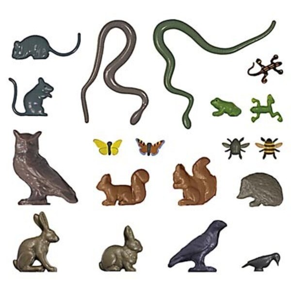 Various small animals