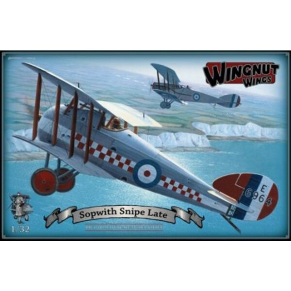 Sopwith Snipe late version. Model features - High quality Cartograf decals for 5 late production aircraft - 113 high quality inj