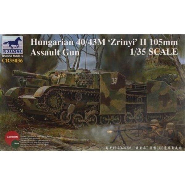Hungarian 40/43M 'Zrinyi'II 105mm Assault Gun