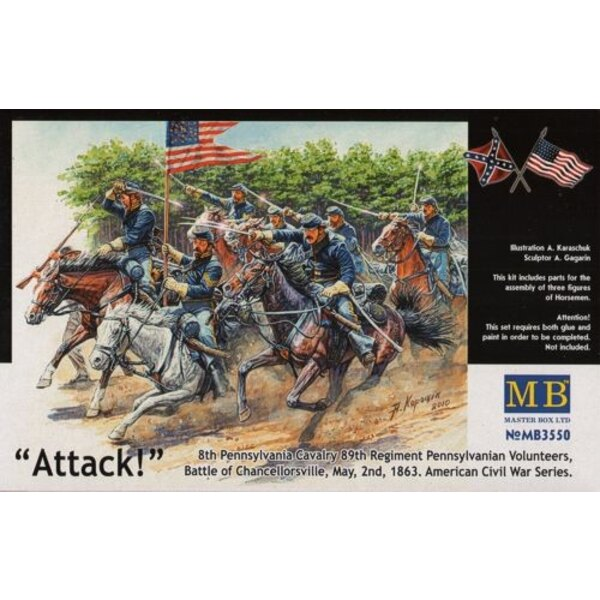 US Civil War Series: The Attack of the 8th Pennsylvania Cavalry