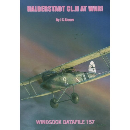 Book Halberstadt CL.II at War