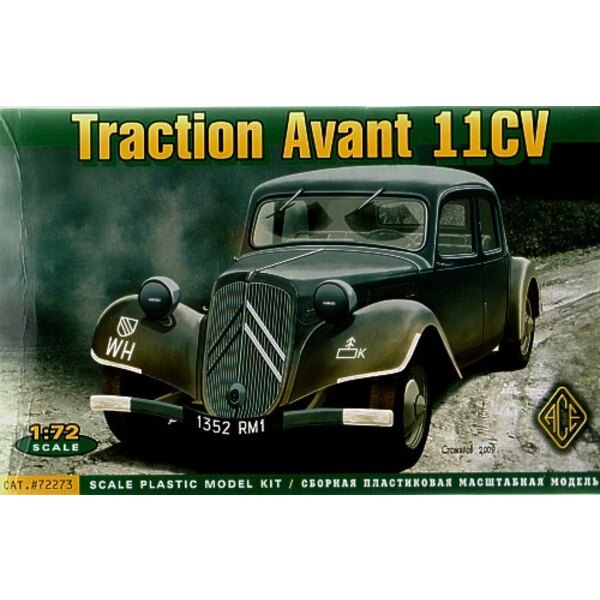 Citroen Traction Avant 11CV Staff Car