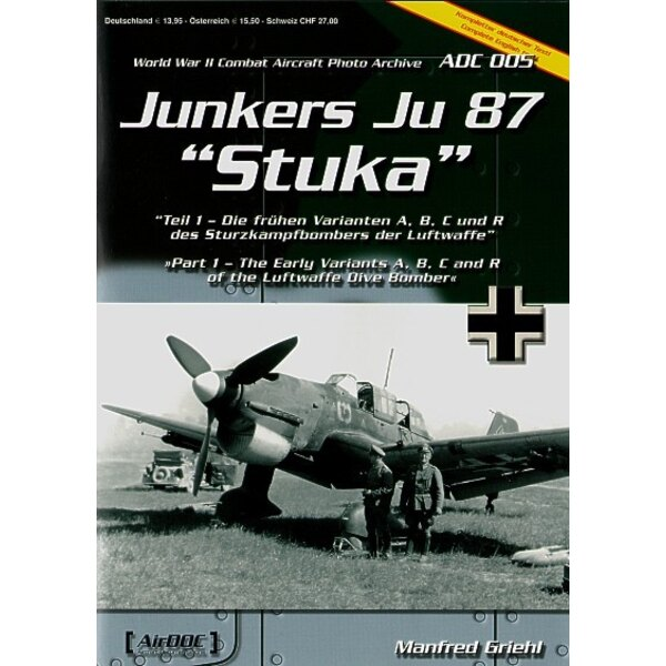 Junkers Ju 87 Part 1 Early versions A/B/C & R