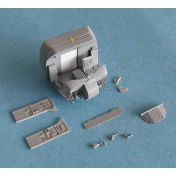 Boeing CH-47 Chinook Interior set (designed to be assembled with model kits from Italeri)