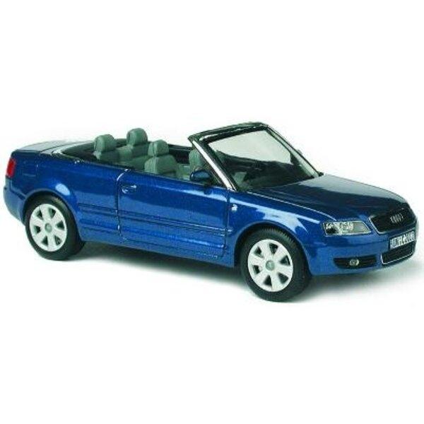 Audi A4 convertible Blue 1:43