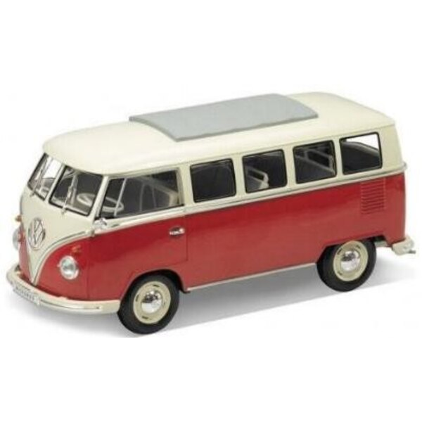 VW Microbus 1962 Red 1:18