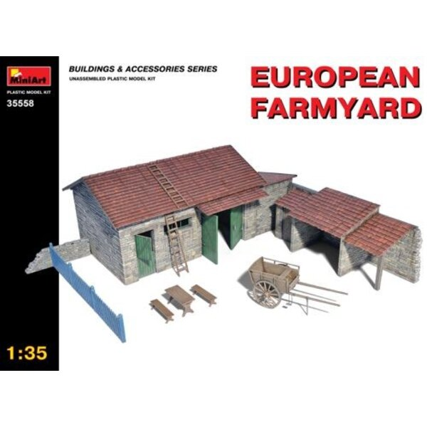 Eurpean Farmyard 1/35 - Mini Art 35558