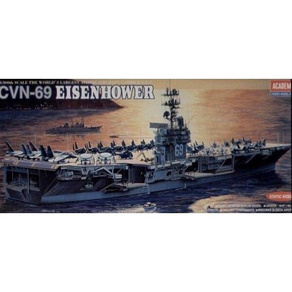 USS Eisenhower CVN-69 (WAS AC1440) 1/800 - 14212 Academy