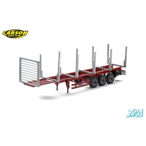 Semi -trailer stanchions