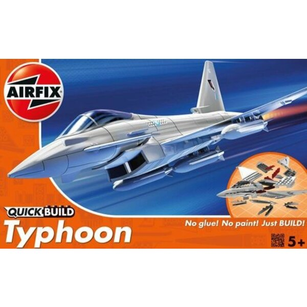 Eurofighter Typhoon Quick buildNo paint or glue required