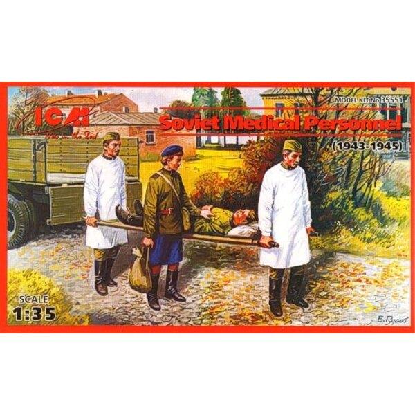 Soviet Medical Personnel (1943-45) Set of 4 figures