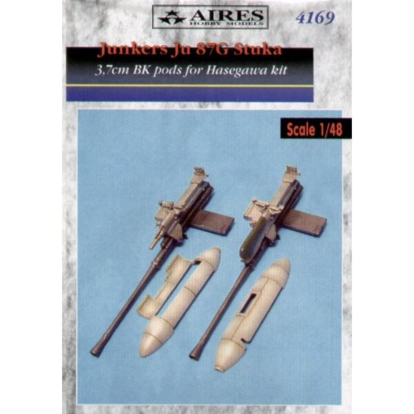 Junkers Ju 87G 3.7cm Bordkanone (designed to be assembled with model kits from Hasegawa)