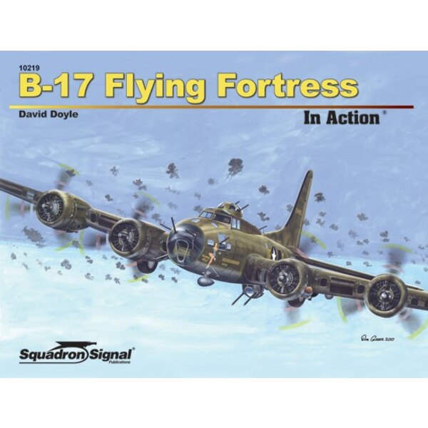 Book B-17 FLYING FORTRESS - IN ACTION