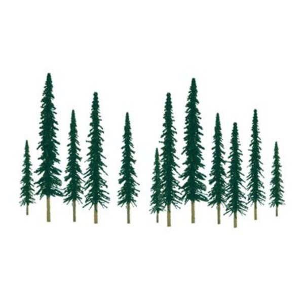 CONIFER 100 to 150mm . HO SCALE