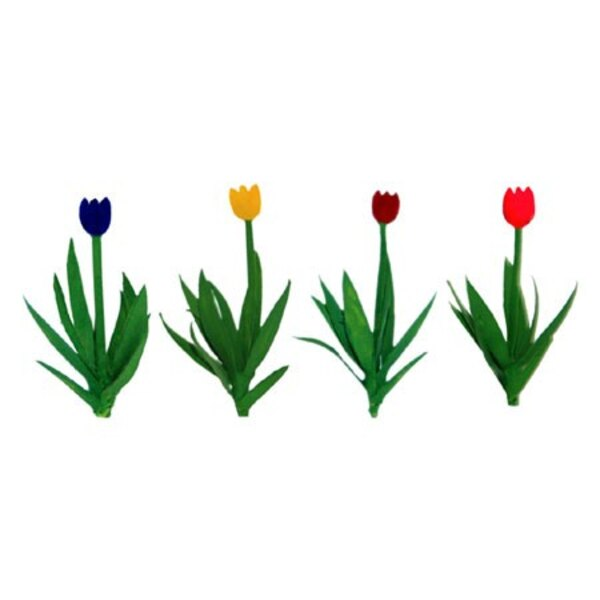 TULIPS ASSORTED 12mm - HO SCALE