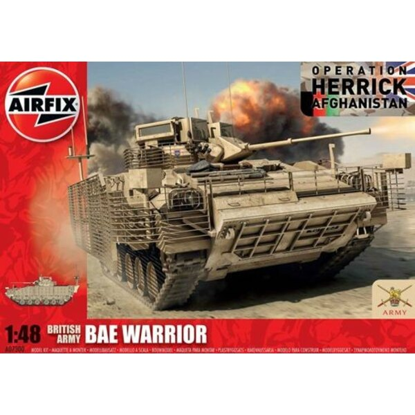 BAE Warrior NEW TOOL Operation Herrick Afghanistan