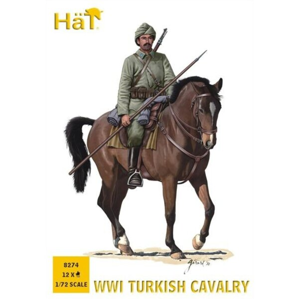 WWI Turkish Cavalry