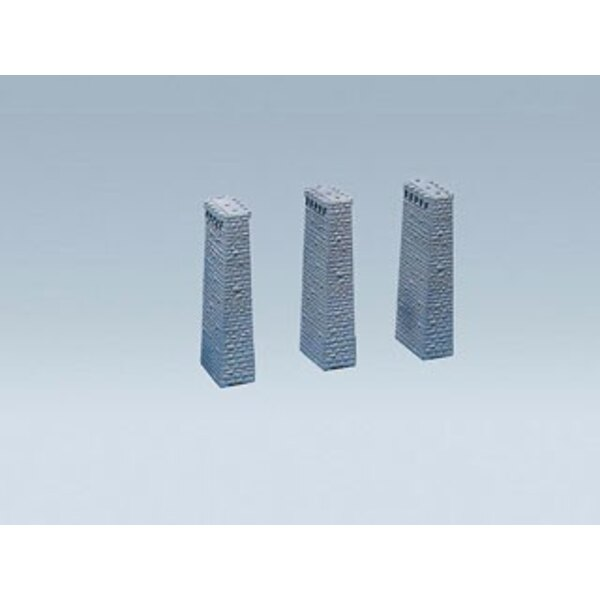 Viaduct pillars 3pcs