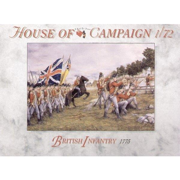 British Infantry 1775