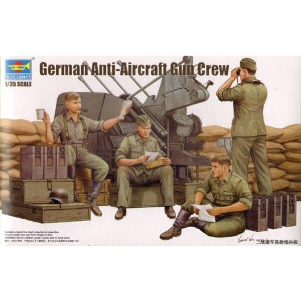 German Anti-Aircraft Gun Crew
