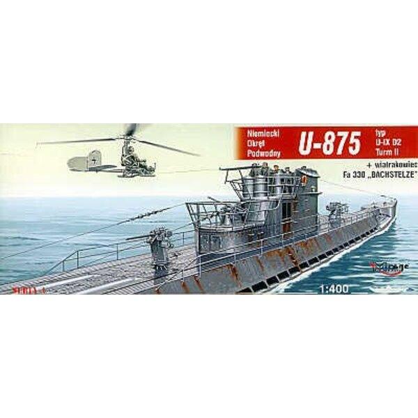 U -875 typ IX D2 Turm II submarine