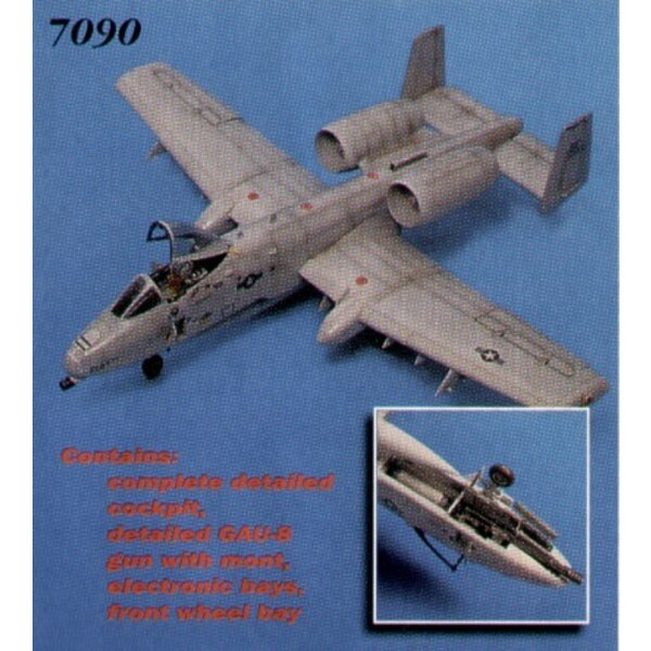 Fairchild A-10A Thunderbolt details (designed to be assembled with model kits from Italeri and Revell)