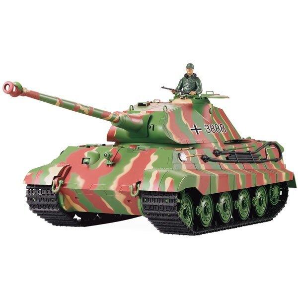 RC tank 1/16 KING TIGER FULL (SOUND / SMOKE)