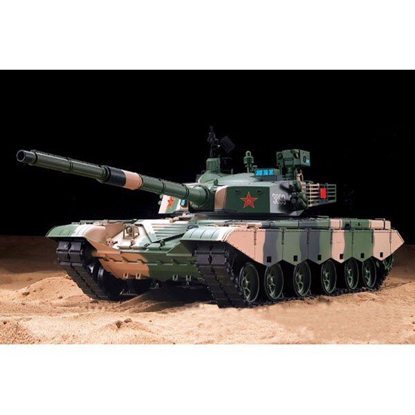 RC tank 1/16 FULL ZTZ 99 MBT (SOUND / SMOKE)