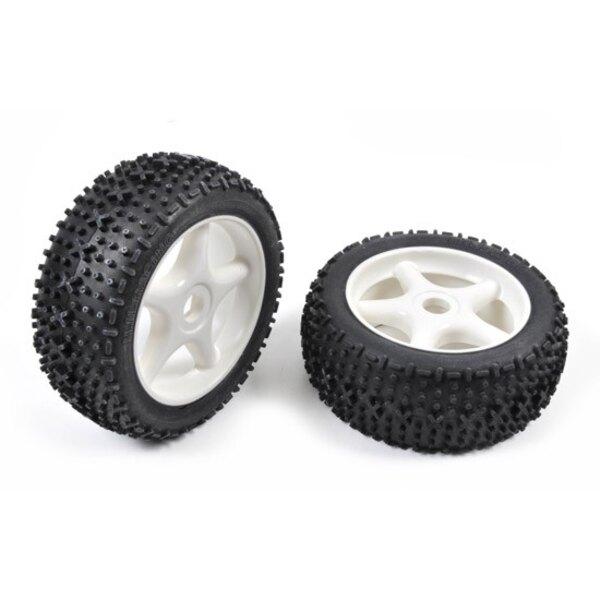 Tires TT 1/8 X -Pattern