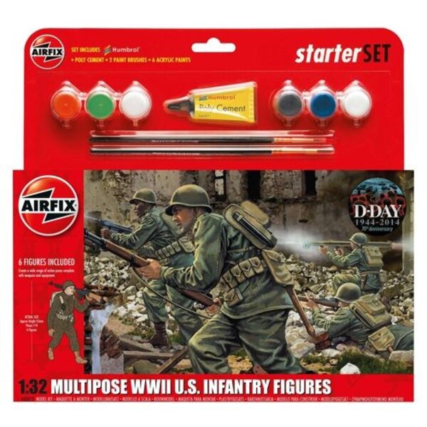 WWII Infantry Multiple-up Gift Set