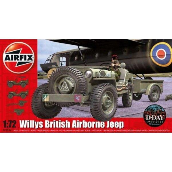 Willys Jeep, Trailer & 6 Pdr Gun