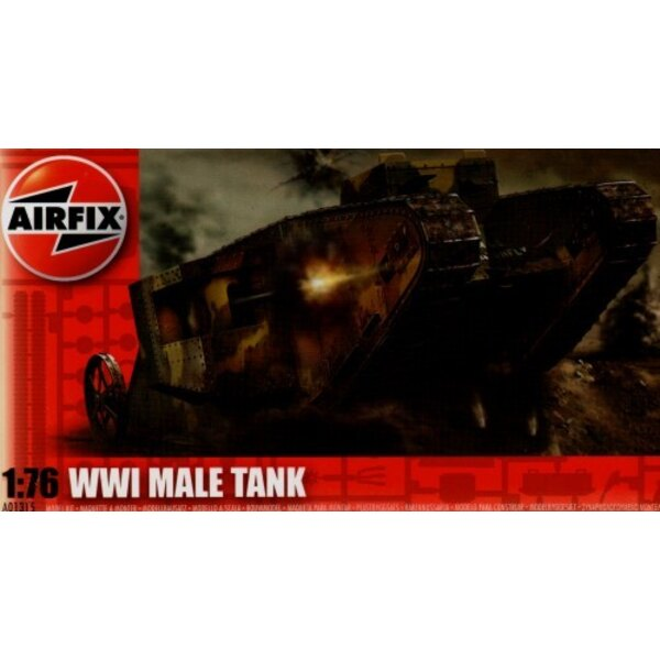 WWI British Male Tank Mk.I