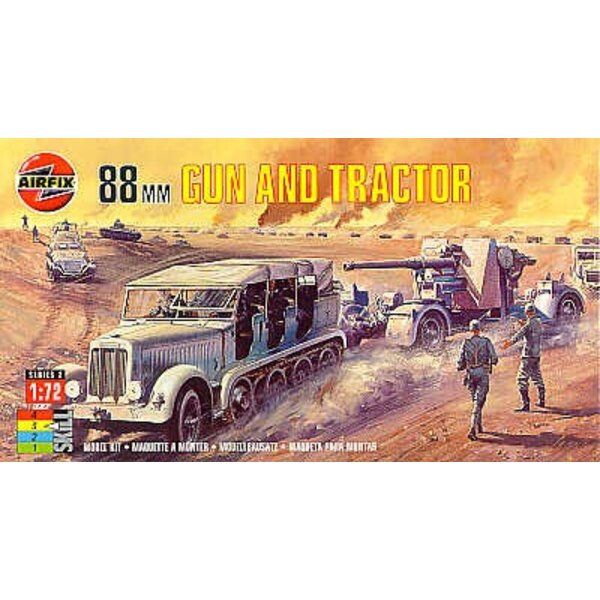 88mm Gun and Tractor
