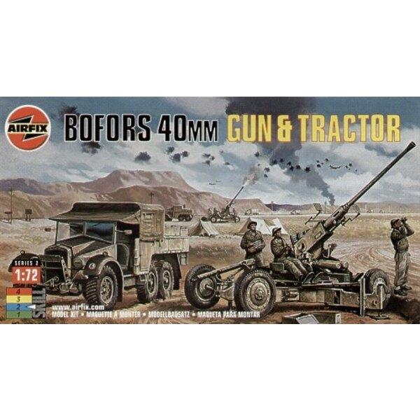 40mm Bofors Gun & Tractor