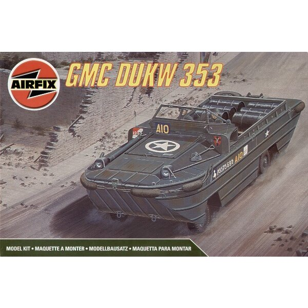GMC DUKW 353 Amphibious truck. See Eduard 35519 for etched detail parts and XT114 for wheel paint masks.