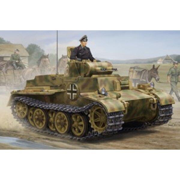 Late Ausf PzkpfwI JVK1801