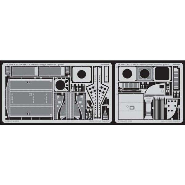 intérieur de chargement de Boeing CH-47C/HC-1 Chinook (pour les maquettes Italeri)