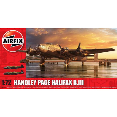 Handley-Page Halifax B MK.III(OLD TOOLING. NOT NEW)