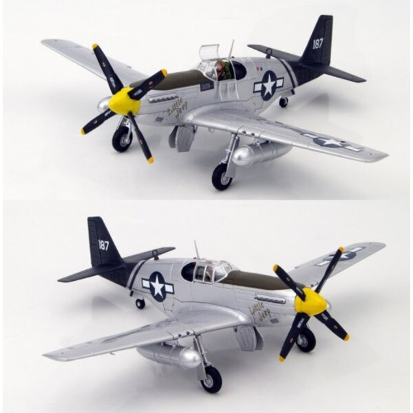 P-51C Mustang Little Jeep Cpt FHParham 75thFS / 23rdFG