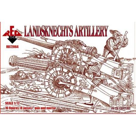 Artillery Landsknechts 16 c.