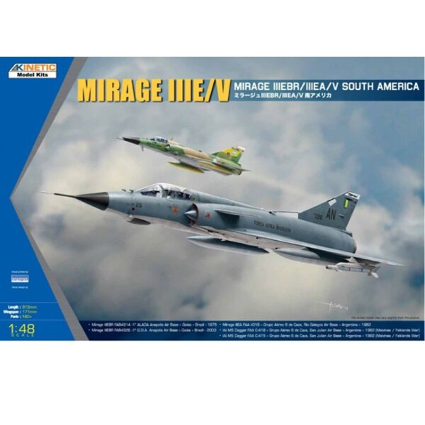 Mirage IIIE / V South America