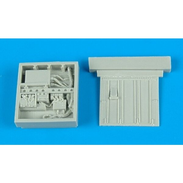 Fairchild A-10A Thunderbolt II electronics bay (designed to be assembled with model kits from Italeri)
