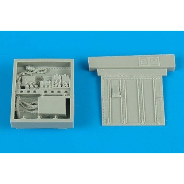 Fairchild A-10A electronic bay (designed to be assembled with model kits from Hobby Boss)