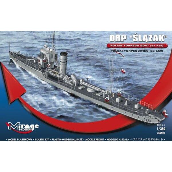ORP Slazak - polski torpedowiec (eg A59)